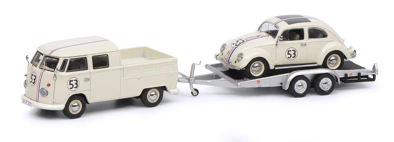 ofrecemos varias marcas famosas Schuco 450374200 450374200-VW T1b - Maqueta Maqueta Maqueta de Coche Volkswagen EsCocheabajo (Escala 1 43), Color Crema  distribución global