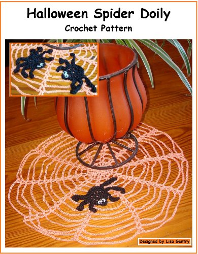 Halloween Spider Doily - Crochet Pattern ()