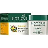 Biotique Bio Fruit Whitening Lip Balm, 12g