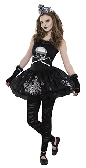 Halloween Zombie Costumes For Girls.Halloween Zomerbine Kids Fancy Dress Girls Zombie Costume Outfit Ages Black 12 14 Years