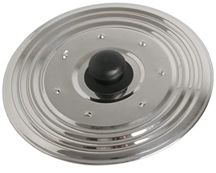 CHEF DIRECT Multipurpose Lid//Stainless Steel//Cover for Pots, Bowls, Pans with Knob (30 cm Multipurpose)
