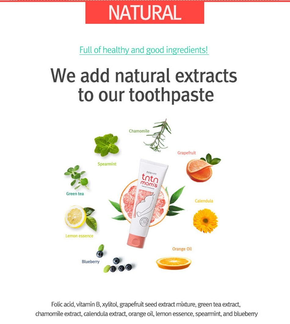tntn mom's natural toothpaste for pregnant with clean oral health care gbsa