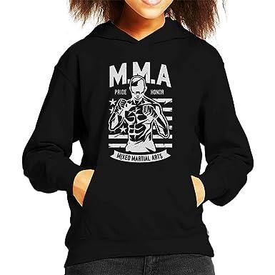 db30e420b9f92 Amazon.com: Coto7 MMA Fighter America Pride Kid's Hooded Sweatshirt ...