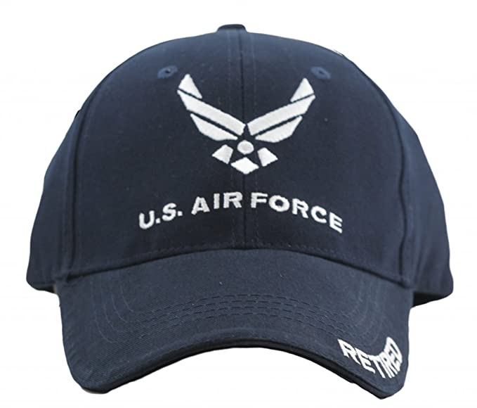 f1a3a6ba4fc Eagle Crest US Air Force Retired Cap for Men and Women United States ...