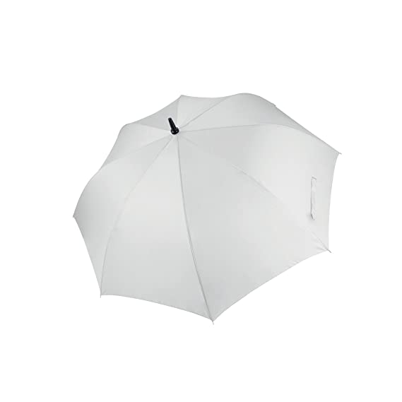 Amazon.com | Kimood Unisex Large Plain Golf Umbrella (One Size) (White) | Umbrellas
