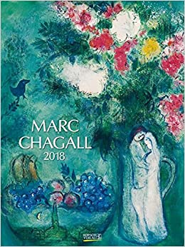 marc chagall 2018 kunst gallery kalender 9783731824039. Black Bedroom Furniture Sets. Home Design Ideas