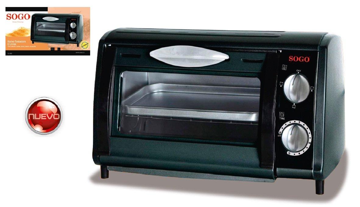 Sogo Mini Horno Grill - 8 L - 700 W: Amazon.es: Hogar