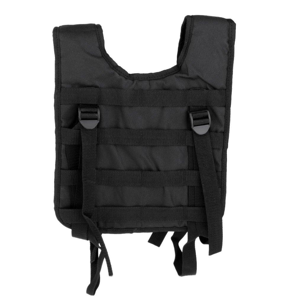 Magideal Chaleco con Tirantes Modulares Molle H-harness Oxford Cinturón para Batalla Deportivo Accesorio Cacería - Camo