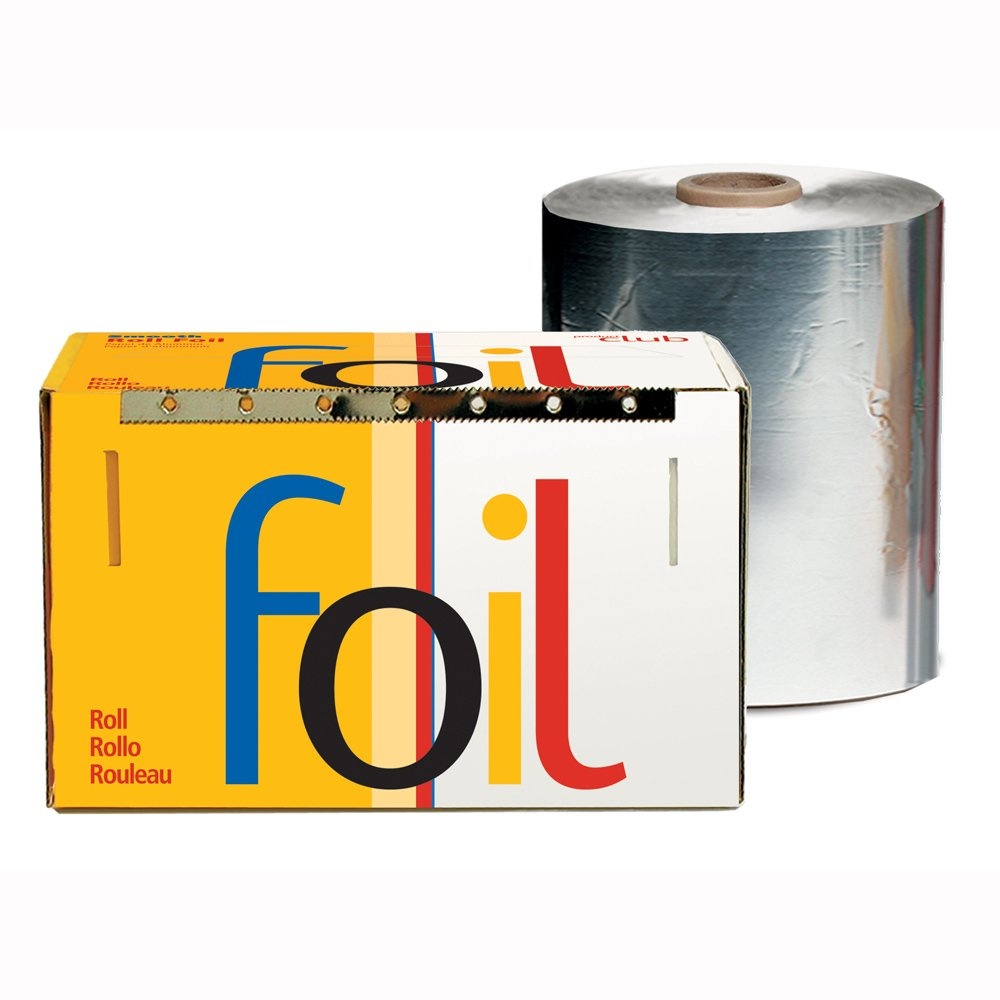 Product Club Smooth Foil Roll, Silver, 5x1450 Inch