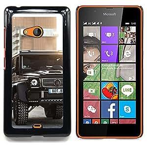 - Brutal Brab Merc GL - - Cubierta del caso de impacto con el patr??n Art Designs FOR Microsoft Nokia Lumia 540 N540 Queen Pattern
