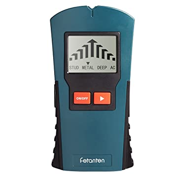 Fetanten 4 EN 1 LCD Detector De Pared Para Metal Tuberías, Detecta AC Cable,