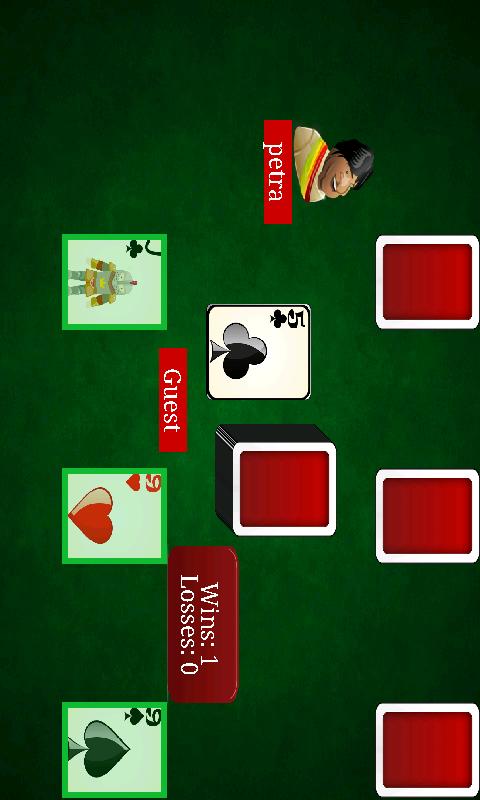 mau mau card