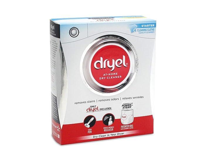 Dryel at Home - Kit de Inicio seco At-Home con Bolsa, Kit Breeze Clean Scent 1 Kit: Amazon.es: Hogar