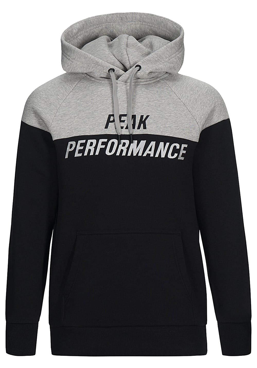 Peak Performance Season Hood schwarz