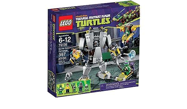 Lego Teenage Ninja Mutant Turtles Set #79105 Baxter Robot ...