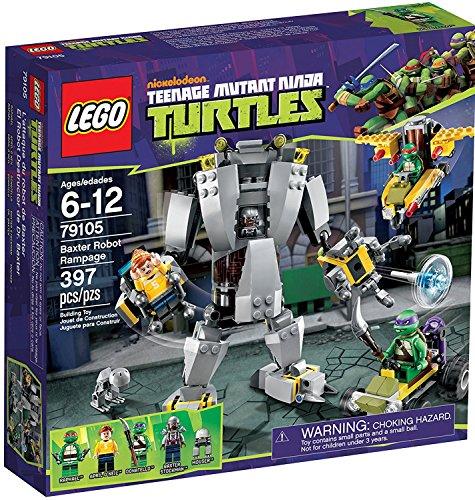 LEGO Ninja Turtles 79105 Mutant Turtles Baxter Robot Rampage