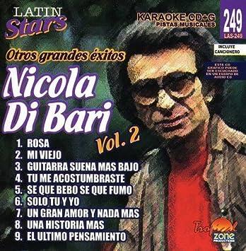 Karaoke Latin Stars 2 by Di Bari, Nicola : Di Bari, Nicola: Amazon ...