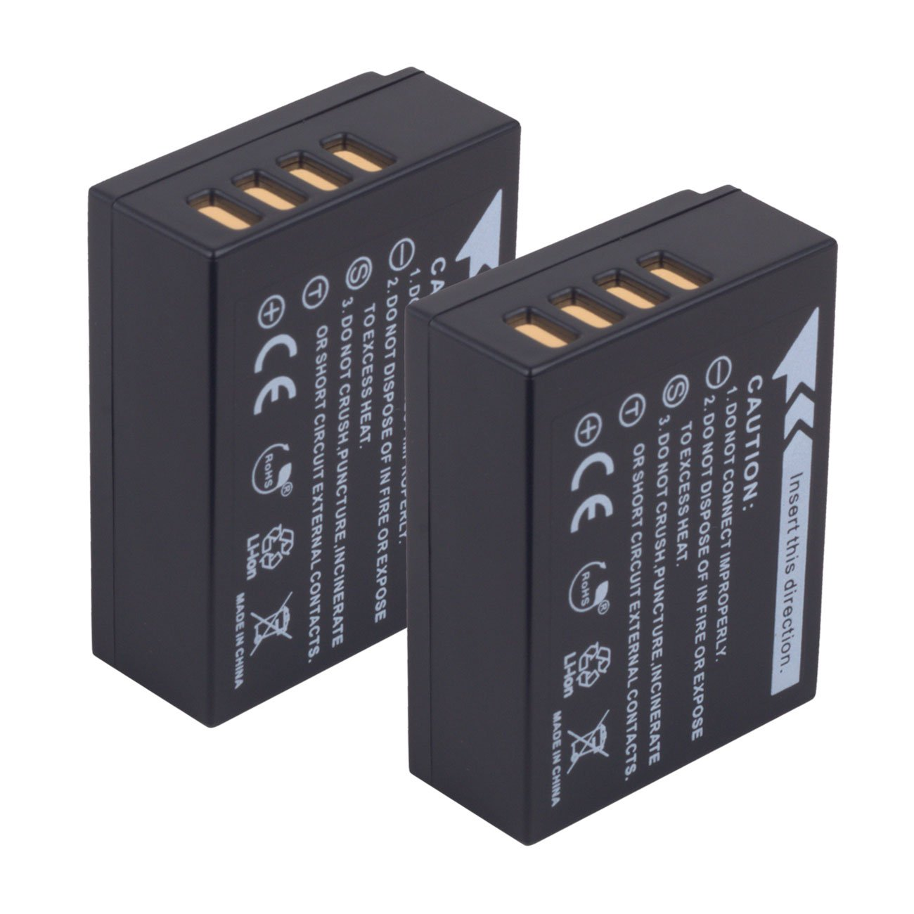 ARCHE NP-W126 NPW126s <2 Pack> Replacement Battery and LCD Dual USB Charger KIT for [Fujifilm FinePix HS30EXR, HS50EXR, X100F X-A1 X-A3 X-A5 X-E1 X-E2 X-E2S X-M1 X-T1 X-T2 X-T10 X-T20 X-Pro1 X-Pro2] by ARCHE (Image #7)