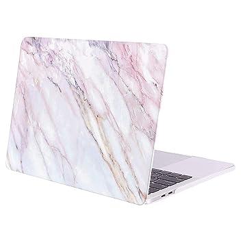 MOSISO Funda Dura Compatible 2019 2018 2017 2016 MacBook Pro 15 Pulgadas con Touch Bar A1990 / A1707, Ultra Delgado Carcasa Rígida Protector de ...