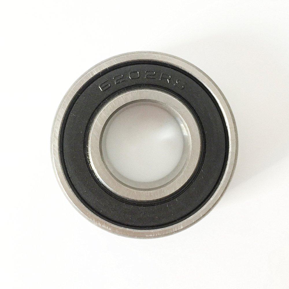 Finesun 6202 non standard cuscinetto 16 x 35 x 11 MM 6202 –  2RS cuscinetto per CNC, motori, macchine (2 pezzi) macchine (2pezzi) Shanghai