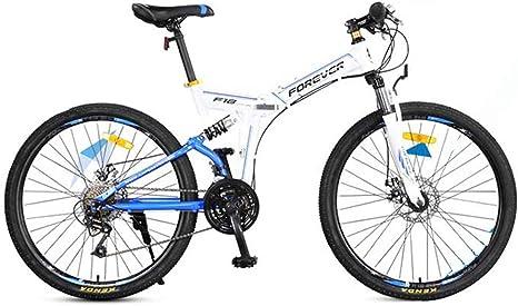 XMIMI Bicicleta de montaña Plegable Bicicleta Todoterreno ...