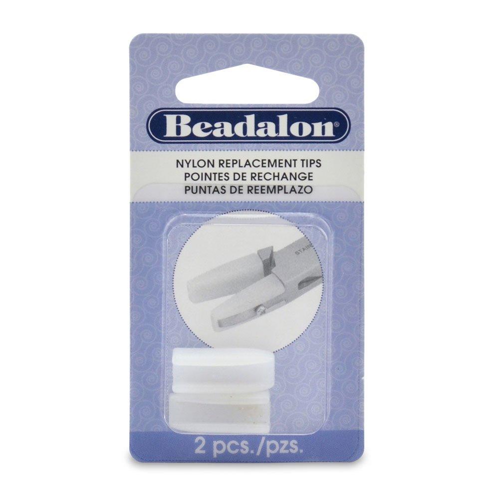 Remplacement de pince nez plat Nylon conseils 2/Pkg-. 75 » Beadalon JTNJ3REP