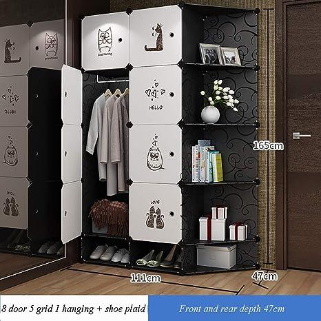 Amazon.com: GJCC Armario de almacenamiento, moderno ...