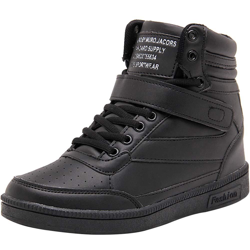 e3b677a664a Amazon.com | sekesin Women's Shoes Hidden Wedges Ankle Boots ...