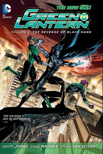 Green Lantern, Vol. 2: Revenge of the Black Hand (The New - Volume 2 Green Sinestro Lantern