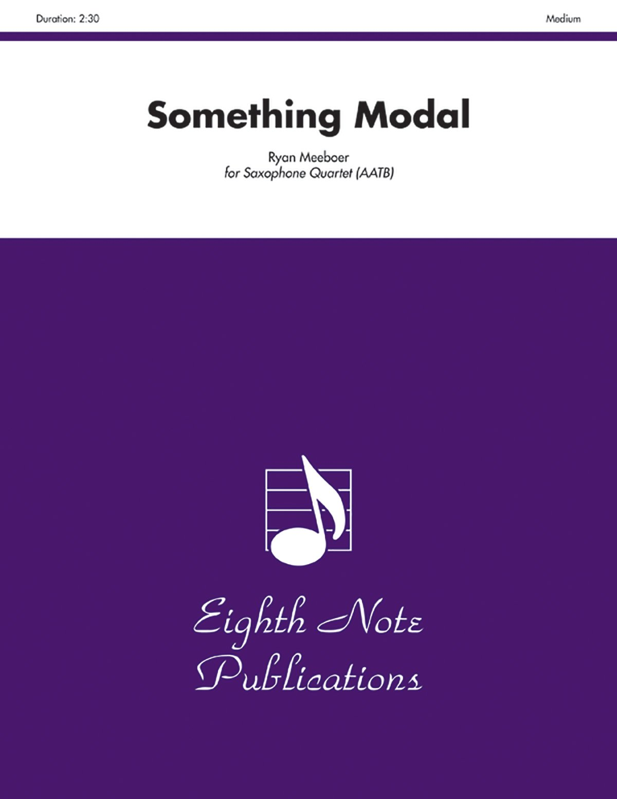 Something Modal: Score & Parts (Eighth Note Publications) pdf