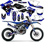 Team Racing Graphics kit for 2008-2019 Yamaha TTR 125, SCATTER
