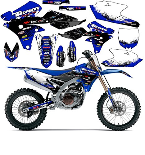 Team Racing Graphics kit for 2008-2018 Yamaha TTR 125, SCATTER