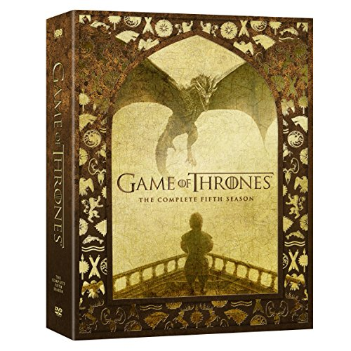 DVD : Game of Thrones: The Complete Fifth Season (Boxed Set, Full Frame, Slipsleeve Packaging, 5 Disc)