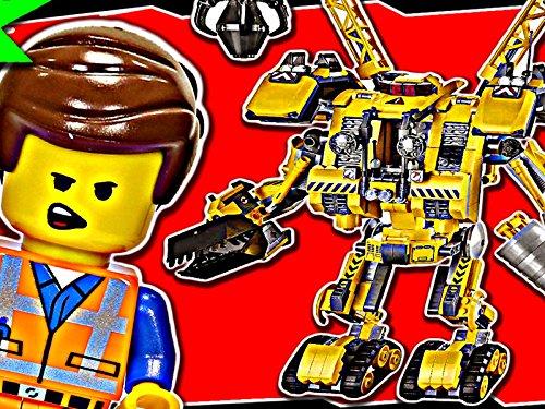 Clip: Emmet's Constructo Mech (70814 Lego Movie)