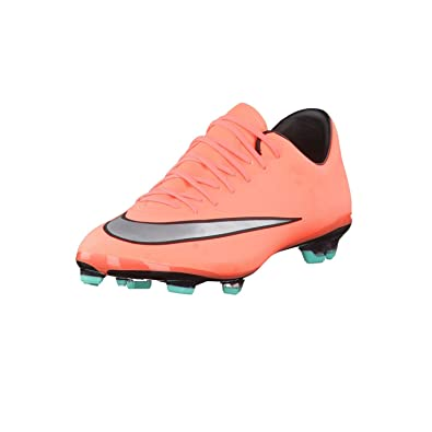 huge selection of 71a6f 49b43 NIKE Jr. Mercurial Vapor X FG Soccer Cleat (Bright Mango) SZ. 6