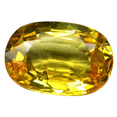 Buy Yellow 3 Carat Sapphire Gemstone line at Low Prices in India