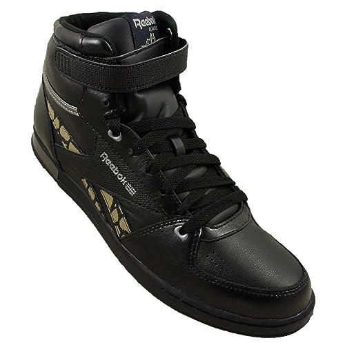 84cee90e1e7e Reebok - CL Hialeah Mid - J21174 - Color  Black - Size  8.0  Amazon ...