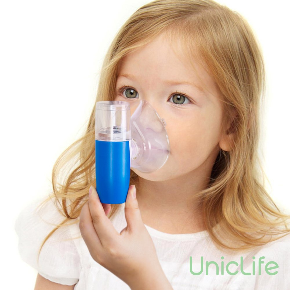 Uniclife Rechargeable Pocket Inhaler Mini Travel Handheld USB Ultrasonic Humidifier for Adult Kid