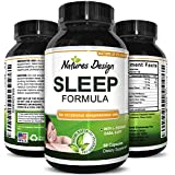 Natural Sleep Aid Pills the Best Herbal Sleeping Formula with Melatonin, GABA, L Theanine and 5 HTP  Top OTC Revitalizing Supplement Stack , Fall Asleep Fast for Adults