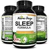 Natural Sleep Aid Pills the Best Herbal Sleeping Formula with Melatonin, GABA, L Theanine and 5 HTP  Top OTC Revitalizing Supplement Stack , Fall Asleep Fast for Adults Review