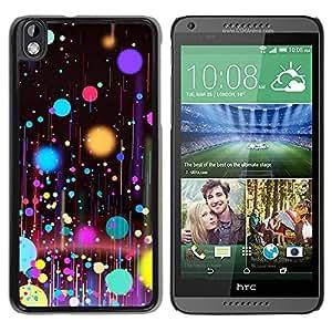 All Phone Most Case / Hard PC Metal piece Shell Slim Cover Protective Case Carcasa Funda Caso de protección para HTC DESIRE 816 Planets Paint Spots Oil Art