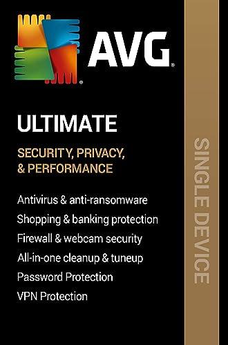 Amazon com: AVG Ultimate 2020   1 PC, 2 Years [PC Online