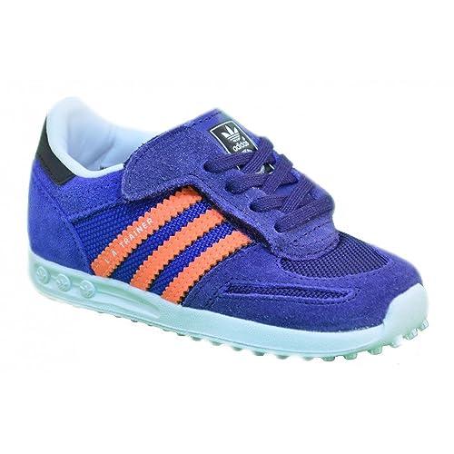 a9d37416ce9d38 adidas L.A. Trainer CF I Sneaker für Kinder