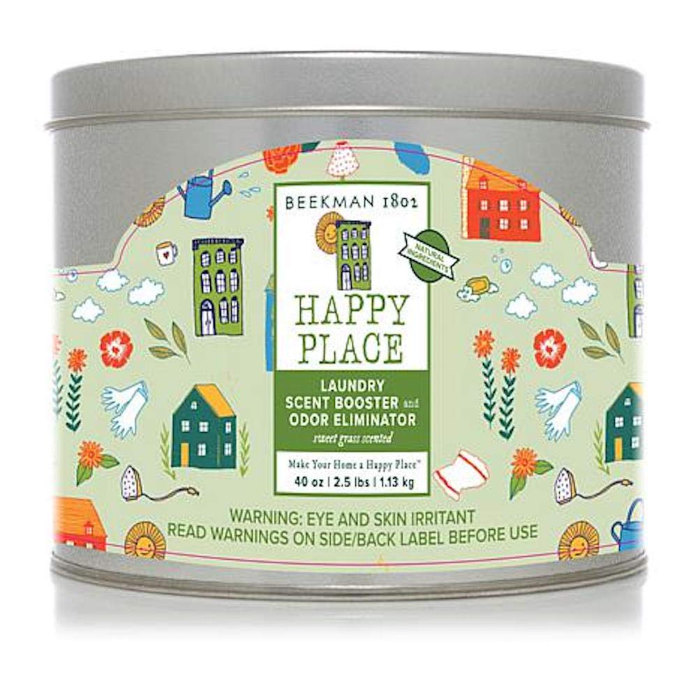 Happy Place 40 oz. Scent Booster & Odor Eliminator - Sweet Grass