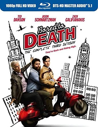 Amazon Com Bored To Death Season 3 Blu Ray Jason Schwartzman Zach Galifianakis Ted Danson Heather Burns John Hodgman Movies Tv
