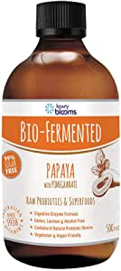 Henry Blooms Bio-Fermented Probiotic Papaya Fruit with Pomegranate Concentrate, 500ml