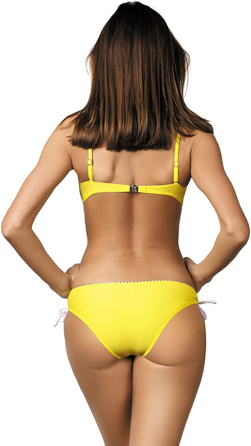 Marko Tracy M-392 women/'s bikini set underwired padded cups removable straps