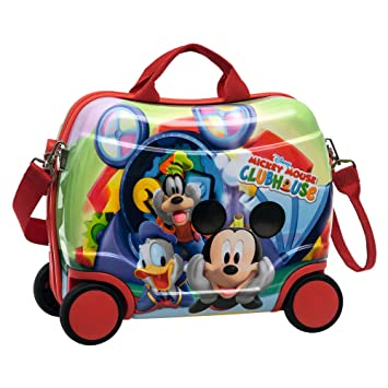 Disney Mickey Maleta Correpasillos, 25 Lt, Color Azul: Amazon.es: Equipaje