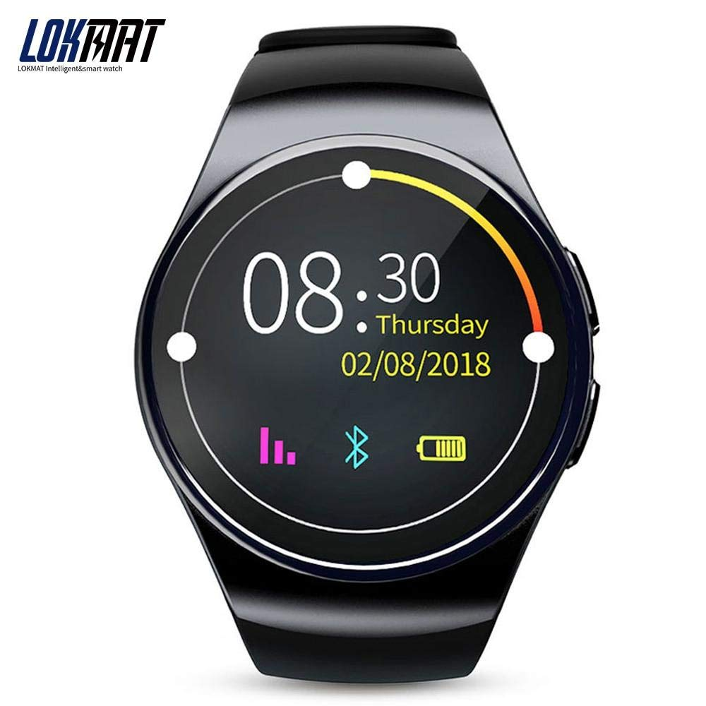 Amazon.com: LOKMAT Sport Smart Watch Android Phone Pedometer ...