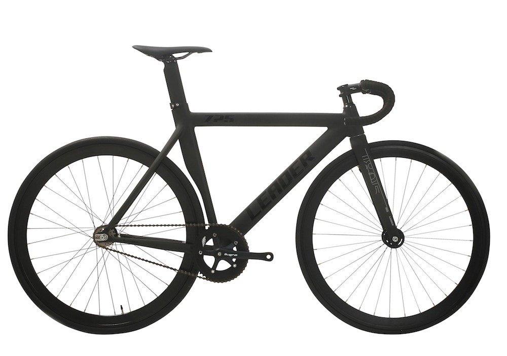 LEADER BIKES リーダーバイク 725TR 2017 Complete Bike コンプリートバイク 完成車 B01FM5TPA8 S 163cm~173cm|ブラック(BLACK) ブラック(BLACK) S 163cm~173cm